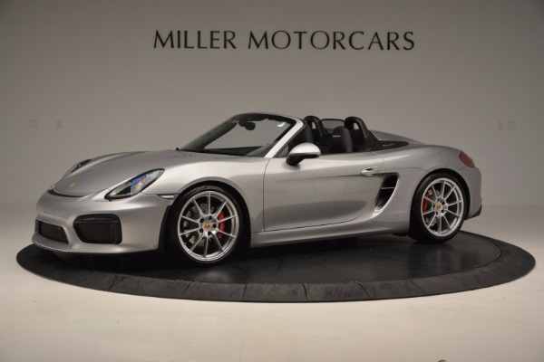 Used 2016 Porsche Boxster Spyder for sale Sold at Alfa Romeo of Greenwich in Greenwich CT 06830 2