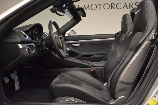 Used 2016 Porsche Boxster Spyder for sale Sold at Alfa Romeo of Greenwich in Greenwich CT 06830 21