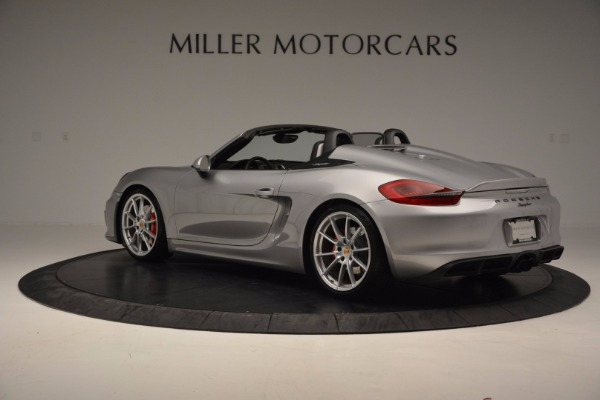 Used 2016 Porsche Boxster Spyder for sale Sold at Alfa Romeo of Greenwich in Greenwich CT 06830 4