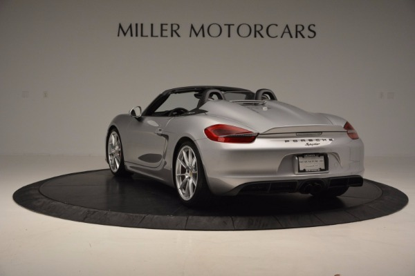 Used 2016 Porsche Boxster Spyder for sale Sold at Alfa Romeo of Greenwich in Greenwich CT 06830 5