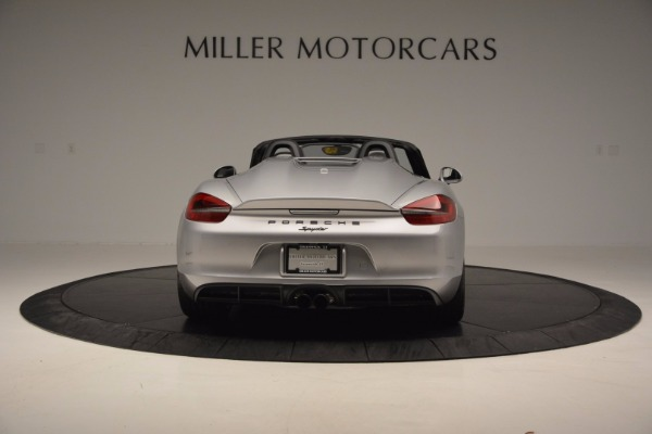 Used 2016 Porsche Boxster Spyder for sale Sold at Alfa Romeo of Greenwich in Greenwich CT 06830 6