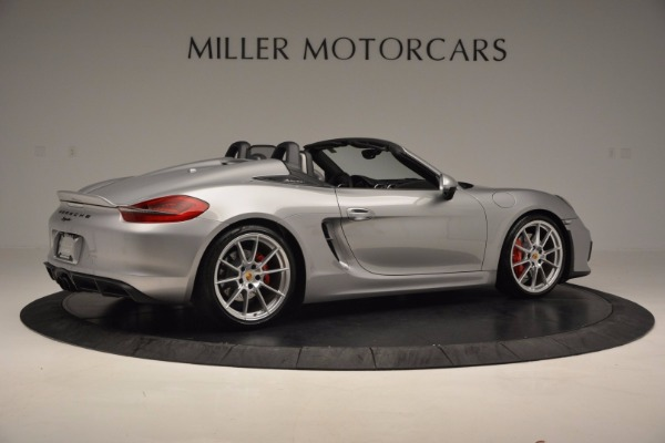 Used 2016 Porsche Boxster Spyder for sale Sold at Alfa Romeo of Greenwich in Greenwich CT 06830 8
