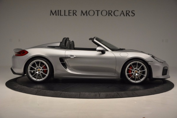 Used 2016 Porsche Boxster Spyder for sale Sold at Alfa Romeo of Greenwich in Greenwich CT 06830 9