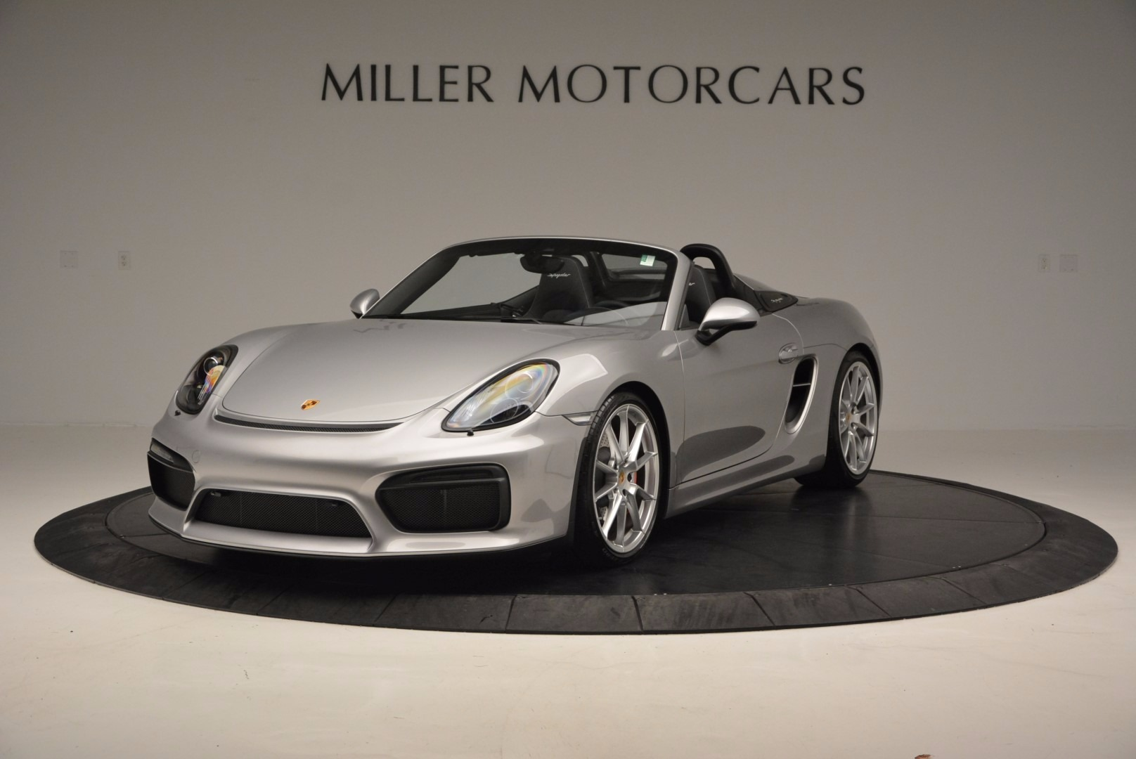 Used 2016 Porsche Boxster Spyder for sale Sold at Alfa Romeo of Greenwich in Greenwich CT 06830 1
