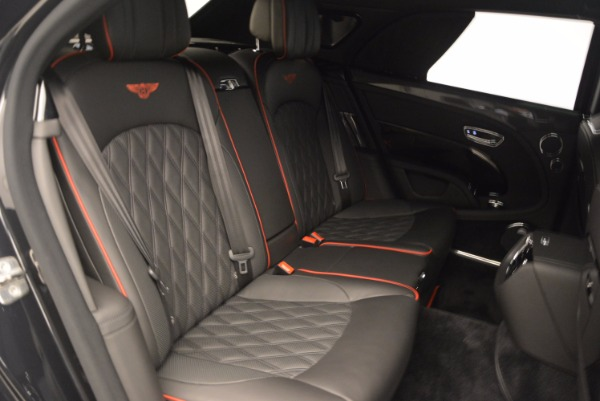 Used 2017 Bentley Mulsanne Speed for sale Sold at Alfa Romeo of Greenwich in Greenwich CT 06830 24