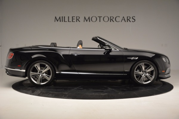 Used 2016 Bentley Continental GT Speed Convertible for sale Sold at Alfa Romeo of Greenwich in Greenwich CT 06830 9