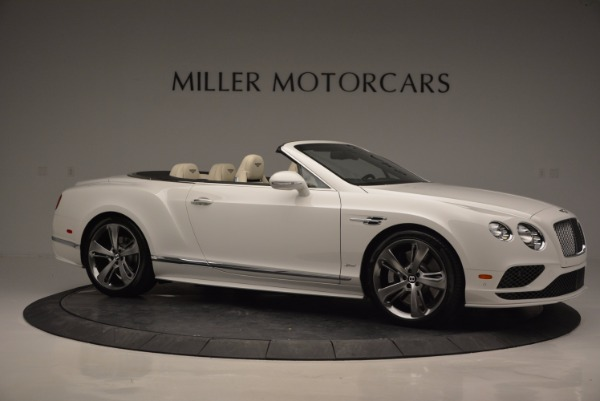 New 2017 Bentley Continental GT Speed Convertible for sale Sold at Alfa Romeo of Greenwich in Greenwich CT 06830 10