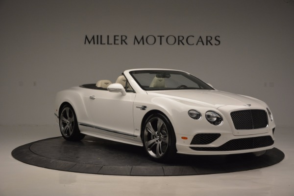 New 2017 Bentley Continental GT Speed Convertible for sale Sold at Alfa Romeo of Greenwich in Greenwich CT 06830 11
