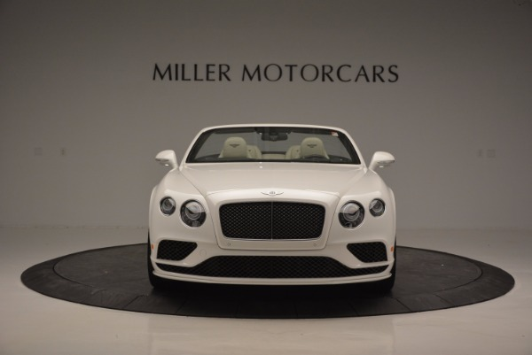 New 2017 Bentley Continental GT Speed Convertible for sale Sold at Alfa Romeo of Greenwich in Greenwich CT 06830 12