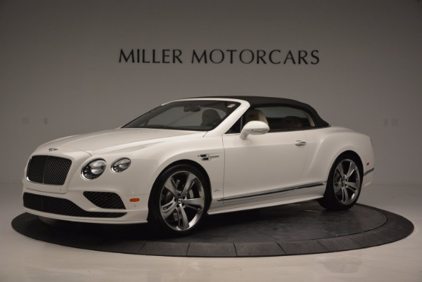 New 2017 Bentley Continental GT Speed Convertible for sale Sold at Alfa Romeo of Greenwich in Greenwich CT 06830 14