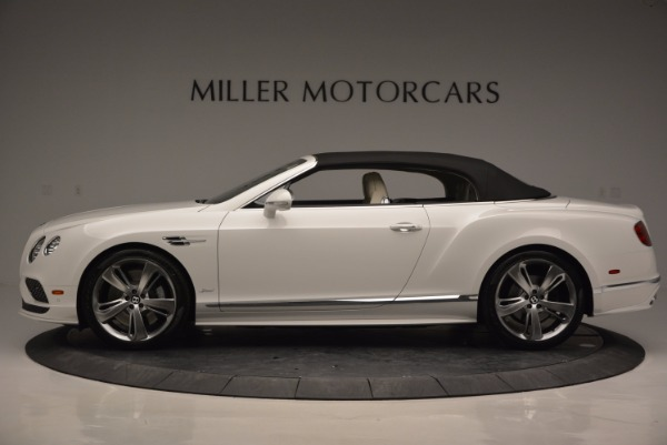 New 2017 Bentley Continental GT Speed Convertible for sale Sold at Alfa Romeo of Greenwich in Greenwich CT 06830 15