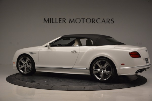 New 2017 Bentley Continental GT Speed Convertible for sale Sold at Alfa Romeo of Greenwich in Greenwich CT 06830 16