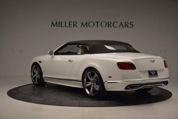 New 2017 Bentley Continental GT Speed Convertible for sale Sold at Alfa Romeo of Greenwich in Greenwich CT 06830 17