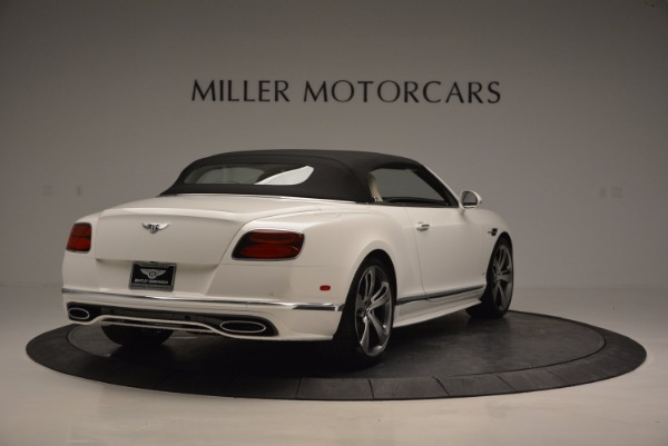 New 2017 Bentley Continental GT Speed Convertible for sale Sold at Alfa Romeo of Greenwich in Greenwich CT 06830 19