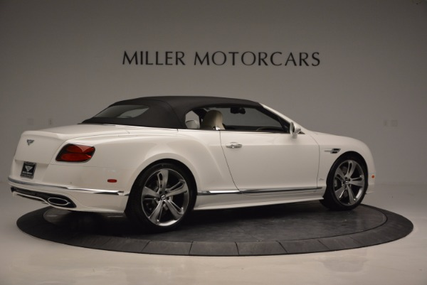 New 2017 Bentley Continental GT Speed Convertible for sale Sold at Alfa Romeo of Greenwich in Greenwich CT 06830 20