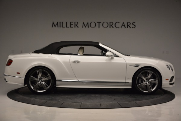 New 2017 Bentley Continental GT Speed Convertible for sale Sold at Alfa Romeo of Greenwich in Greenwich CT 06830 21