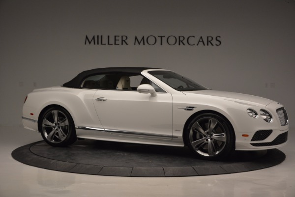 New 2017 Bentley Continental GT Speed Convertible for sale Sold at Alfa Romeo of Greenwich in Greenwich CT 06830 22