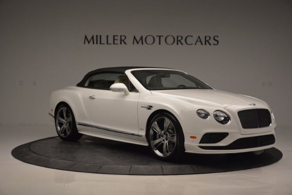 New 2017 Bentley Continental GT Speed Convertible for sale Sold at Alfa Romeo of Greenwich in Greenwich CT 06830 23