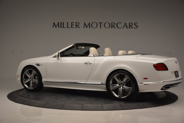 New 2017 Bentley Continental GT Speed Convertible for sale Sold at Alfa Romeo of Greenwich in Greenwich CT 06830 4