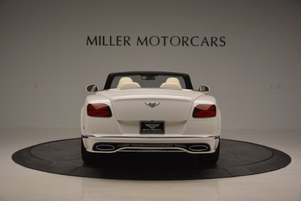 New 2017 Bentley Continental GT Speed Convertible for sale Sold at Alfa Romeo of Greenwich in Greenwich CT 06830 6