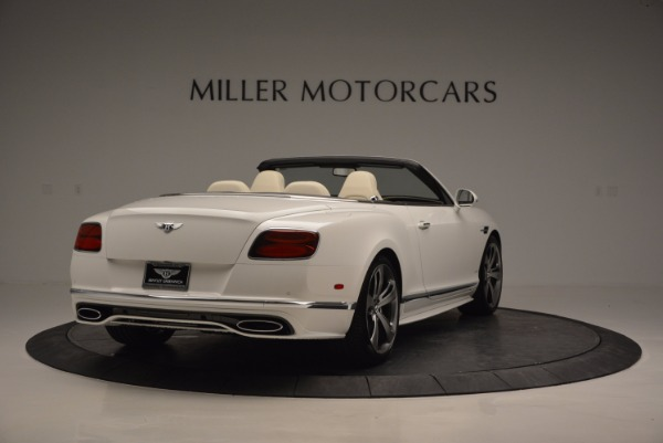 New 2017 Bentley Continental GT Speed Convertible for sale Sold at Alfa Romeo of Greenwich in Greenwich CT 06830 7