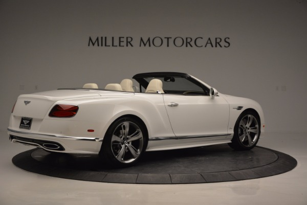 New 2017 Bentley Continental GT Speed Convertible for sale Sold at Alfa Romeo of Greenwich in Greenwich CT 06830 8