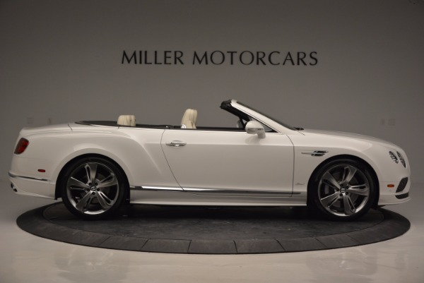 New 2017 Bentley Continental GT Speed Convertible for sale Sold at Alfa Romeo of Greenwich in Greenwich CT 06830 9