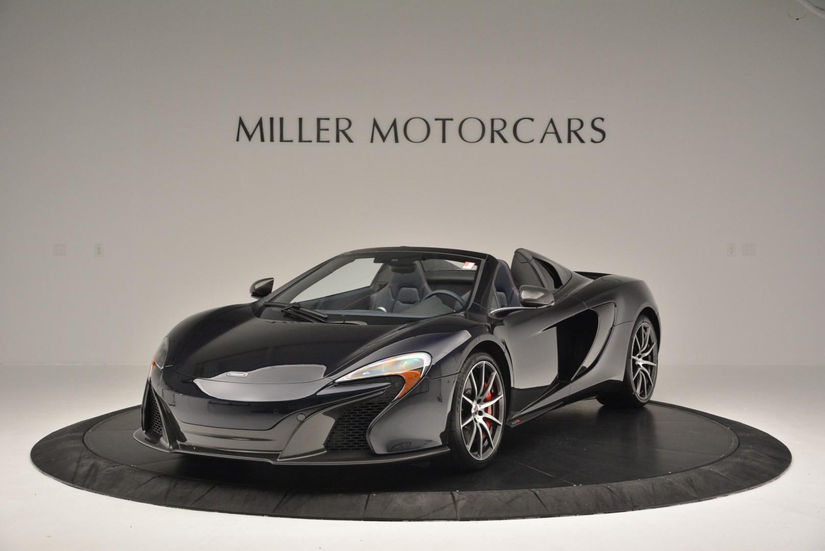 New 2016 McLaren 650S Spider for sale Sold at Alfa Romeo of Greenwich in Greenwich CT 06830 1