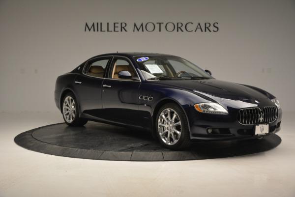 Used 2010 Maserati Quattroporte S for sale Sold at Alfa Romeo of Greenwich in Greenwich CT 06830 11