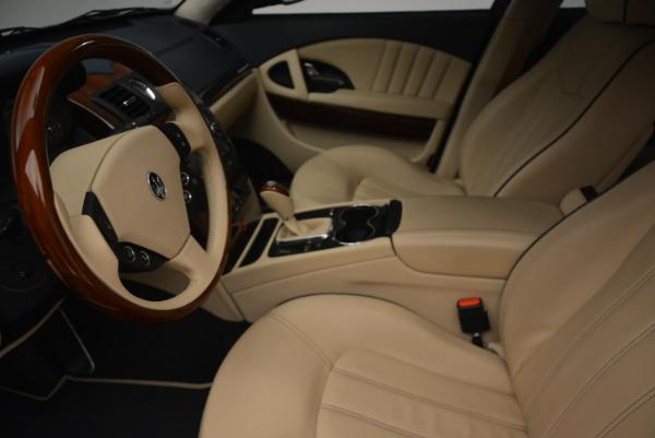 Used 2010 Maserati Quattroporte S for sale Sold at Alfa Romeo of Greenwich in Greenwich CT 06830 14