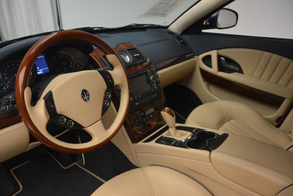 Used 2010 Maserati Quattroporte S for sale Sold at Alfa Romeo of Greenwich in Greenwich CT 06830 15