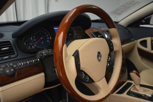 Used 2010 Maserati Quattroporte S for sale Sold at Alfa Romeo of Greenwich in Greenwich CT 06830 16