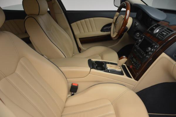 Used 2010 Maserati Quattroporte S for sale Sold at Alfa Romeo of Greenwich in Greenwich CT 06830 18