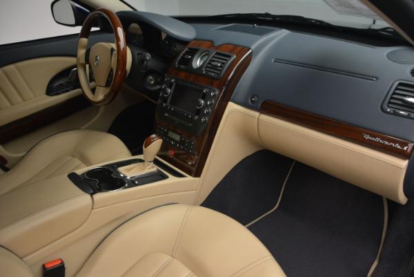 Used 2010 Maserati Quattroporte S for sale Sold at Alfa Romeo of Greenwich in Greenwich CT 06830 19
