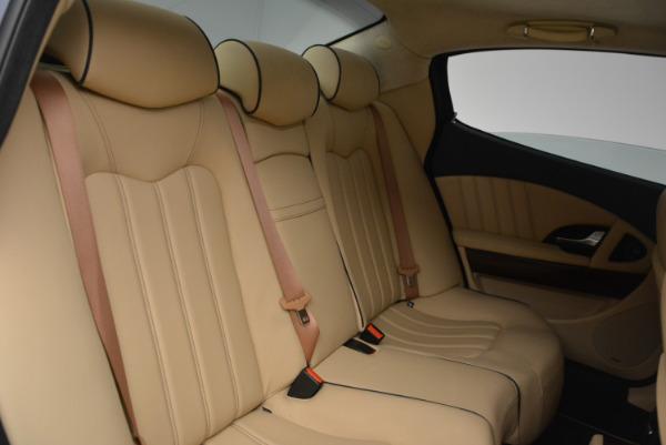 Used 2010 Maserati Quattroporte S for sale Sold at Alfa Romeo of Greenwich in Greenwich CT 06830 20