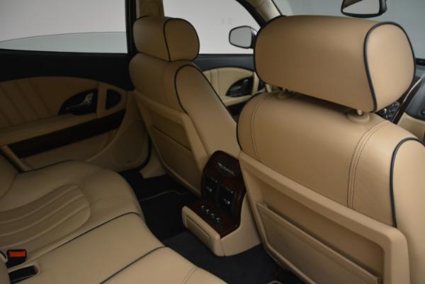 Used 2010 Maserati Quattroporte S for sale Sold at Alfa Romeo of Greenwich in Greenwich CT 06830 22