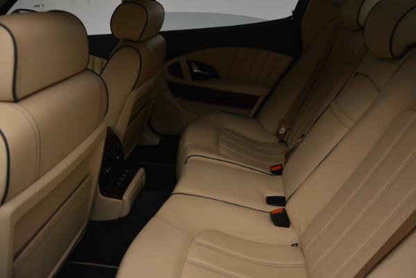 Used 2010 Maserati Quattroporte S for sale Sold at Alfa Romeo of Greenwich in Greenwich CT 06830 24