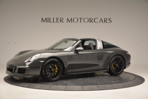 Used 2016 Porsche 911 Targa 4 GTS for sale Sold at Alfa Romeo of Greenwich in Greenwich CT 06830 2