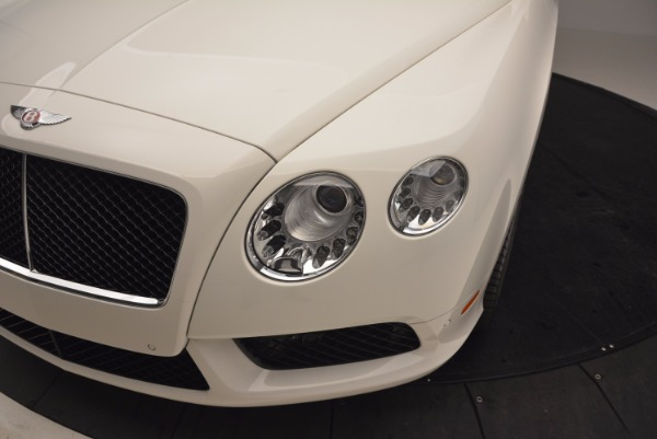 Used 2013 Bentley Continental GT V8 for sale Sold at Alfa Romeo of Greenwich in Greenwich CT 06830 14