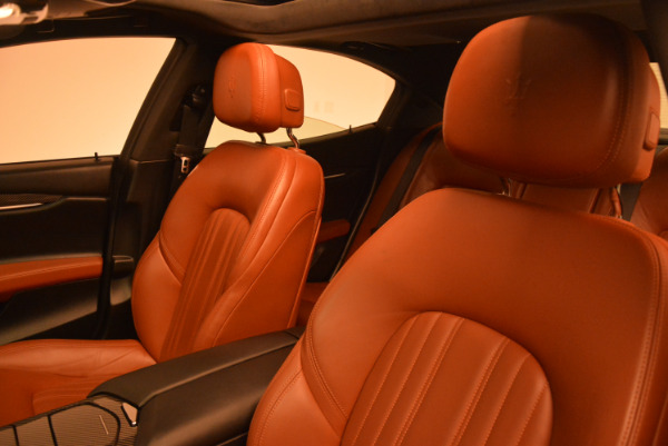 Used 2014 Maserati Ghibli S Q4 for sale Sold at Alfa Romeo of Greenwich in Greenwich CT 06830 16