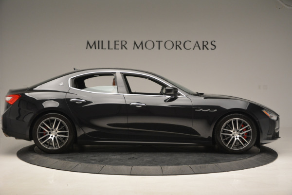 Used 2014 Maserati Ghibli S Q4 for sale Sold at Alfa Romeo of Greenwich in Greenwich CT 06830 9