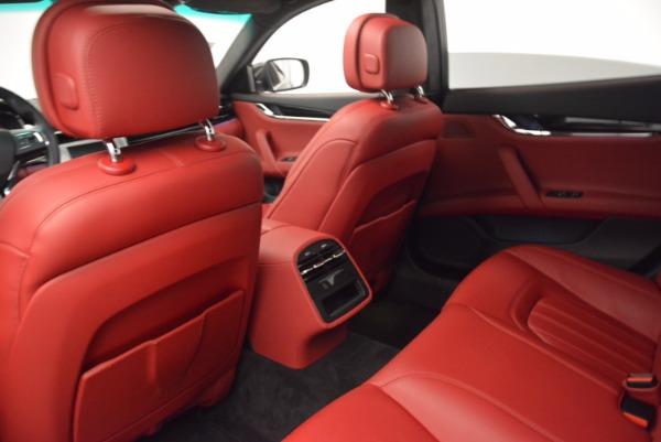 Used 2015 Maserati Quattroporte S Q4 for sale Sold at Alfa Romeo of Greenwich in Greenwich CT 06830 19