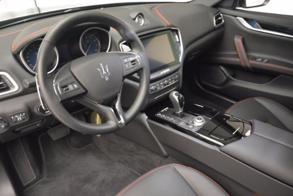 Used 2017 Maserati Ghibli S Q4 for sale Sold at Alfa Romeo of Greenwich in Greenwich CT 06830 14