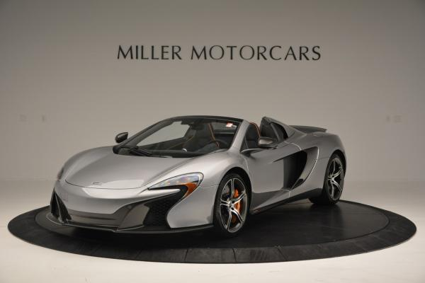 Used 2016 McLaren 650S SPIDER Convertible for sale Sold at Alfa Romeo of Greenwich in Greenwich CT 06830 2