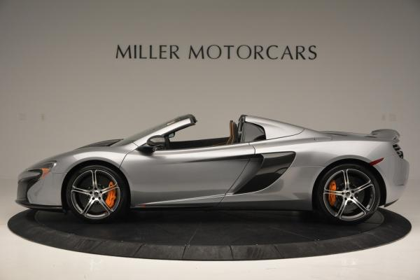 Used 2016 McLaren 650S SPIDER Convertible for sale Sold at Alfa Romeo of Greenwich in Greenwich CT 06830 3
