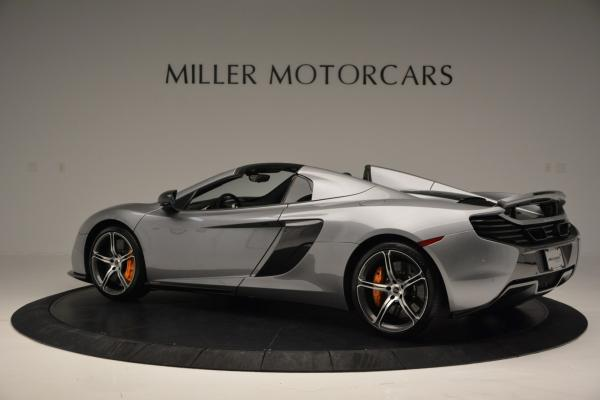 Used 2016 McLaren 650S SPIDER Convertible for sale Sold at Alfa Romeo of Greenwich in Greenwich CT 06830 4