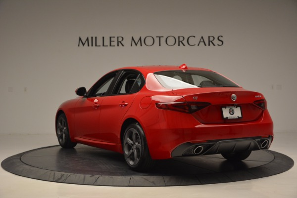New 2017 Alfa Romeo Giulia Q4 for sale Sold at Alfa Romeo of Greenwich in Greenwich CT 06830 5