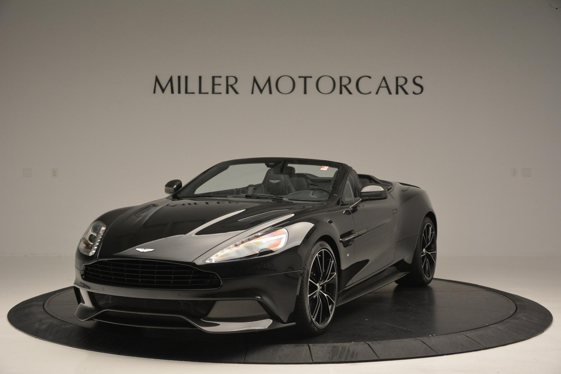New 2016 Aston Martin Vanquish Volante for sale Sold at Alfa Romeo of Greenwich in Greenwich CT 06830 1