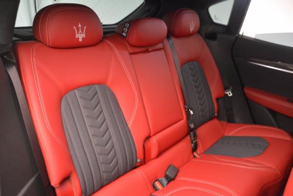 New 2017 Maserati Levante S Zegna Edition for sale Sold at Alfa Romeo of Greenwich in Greenwich CT 06830 26