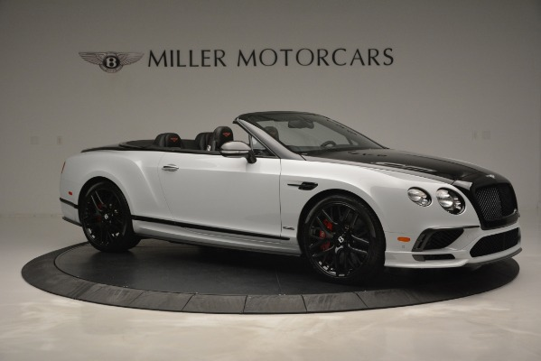 New 2018 Bentley Continental GT Supersports Convertible for sale Sold at Alfa Romeo of Greenwich in Greenwich CT 06830 10